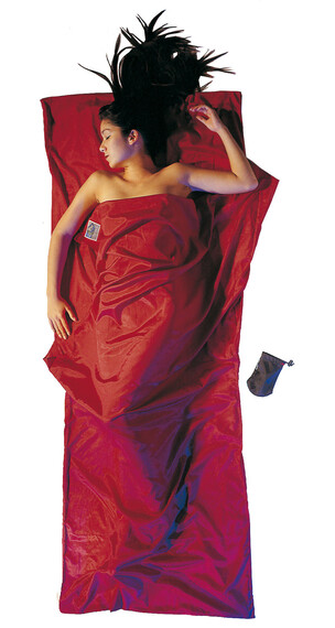 Cocoon TravelSheet silk/cotton monk's red